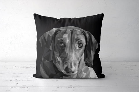 Dachshund ( Dog Lovers) Cushion Covers | Artist : Amantrika Saraogi