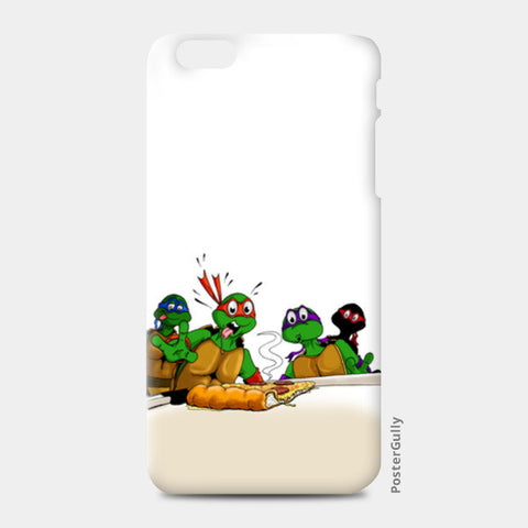 iPhone 6/6S Plus Cases, Ninja Turtles - Pizzaaa!! iPhone 6 Plus/6S Plus Cases | Artist : Paul D' Rozario, - PosterGully