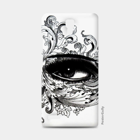 Eye Doodle Redmi Note Cases | Artist : Rahul Tanwar
