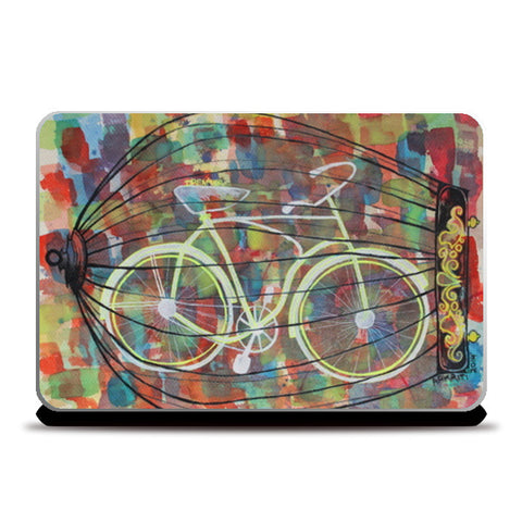 Laptop Skins, Freedom Bound Laptop Skins | Artist : aakriti kapoor, - PosterGully