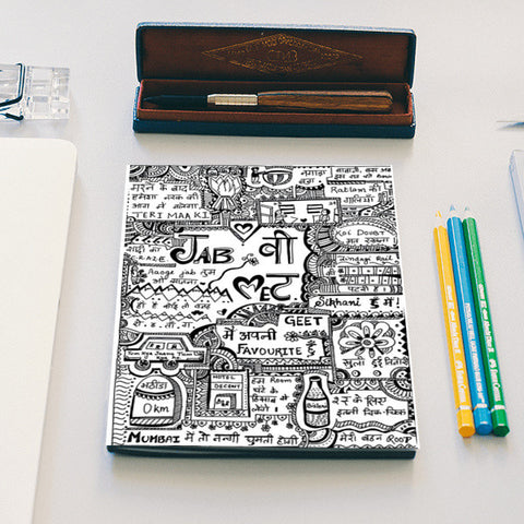 jab we met Notebook | Artist : Himani Chhabra