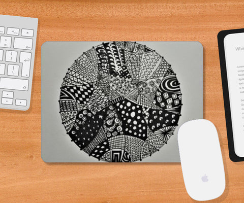 #Abstract Mousepad | Artist : Divya Iyer