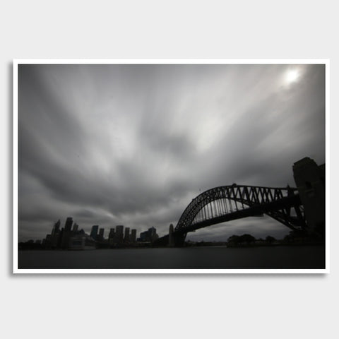 Sydney Opera and Harbour Bridge Giant Poster | Artist : Gagandeep Singh