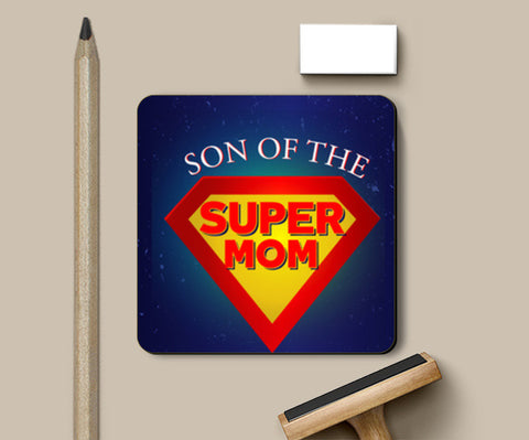 Best mother - Super Mom !! Coasters | Artist : Dolly P