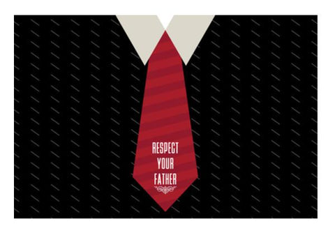 PosterGully Specials, Respect Your Father Wall Art  | Artist : Designerchennai, - PosterGully