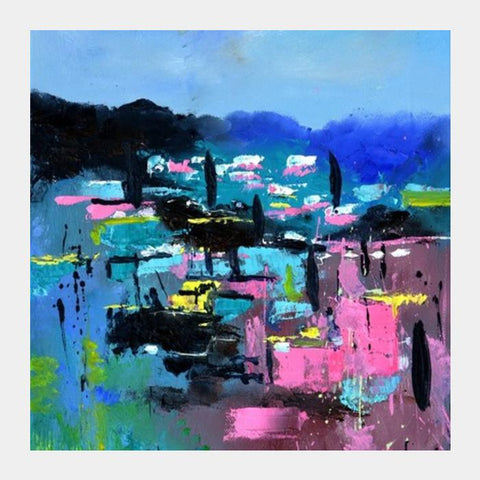 PosterGully Specials, Provence abstraite Square Art Prints | Artist : pol ledent, - PosterGully