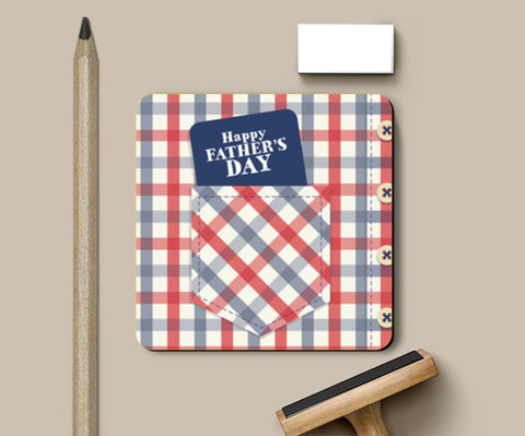 Father's Day Shirt Art | #Father's Day Special  Coasters | Artist : Creative DJ