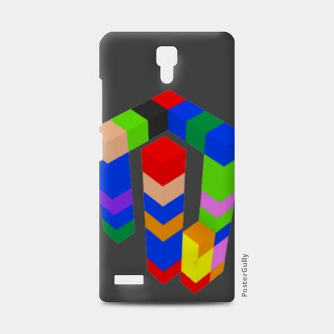 Redmi Note Cases, 3D Color Cubes Redmi Note Cases | Artist : CK GANDHI, - PosterGully