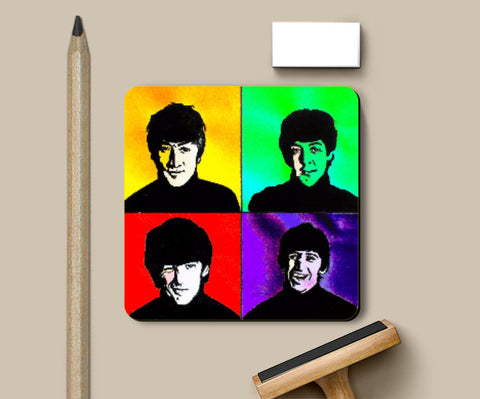Coasters, The Beatles Coaster | Pritika Uppal, - PosterGully