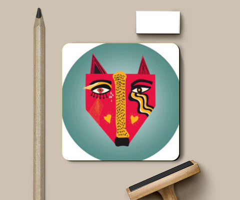 Foxx Coasters | Artist : looshmoosh