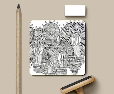 Coasters, Doodle Light Coasters | Artist : Eggoticons, - PosterGully
