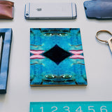 True Perception - Blue Eyes Pink Lips Notebook | Artist : Rameshwar Chawla