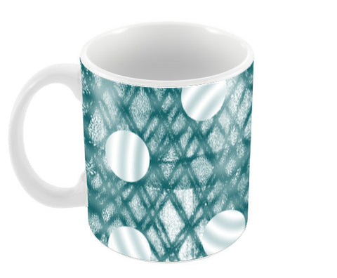 Monoprint Circle Coffee Mugs | Artist : Nisha Prabhu