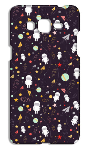 Astronaut Pattern Samsung Galaxy Grand Prime Cases | Artist : Designerchennai