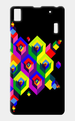 Cube Dimension 2 Lenovo A7000 Cases | Artist : D.B.A.khil