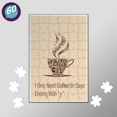 Love For Coffee Jigsaw Puzzles | Artist : Namit Halakhandi