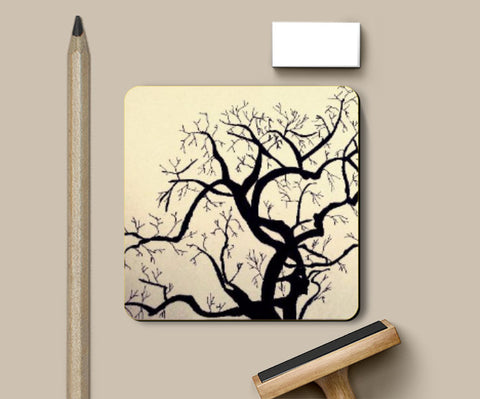 Coasters, Solitary Tree Coaster | Artist: Shireen Gadru, - PosterGully