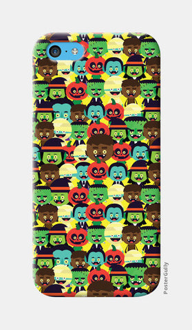 iPhone 5c Cases, HALLOWEEN MONSTERS iPhone 5c Case | Mona Singh, - PosterGully