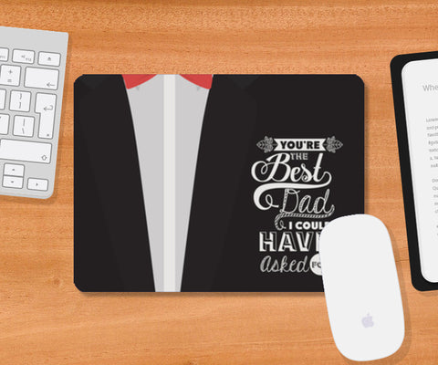 Suit Artwork Father's Day | #Father's Day Special  Mousepad | Artist : Creative DJ