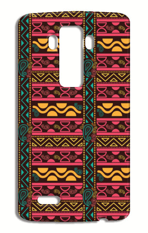 Abstract geometric pattern african style LG G4 Cases | Artist : Designerchennai