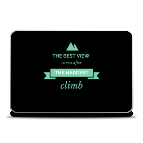 The best view Laptop Skins | Artist : Pallavi Rawal