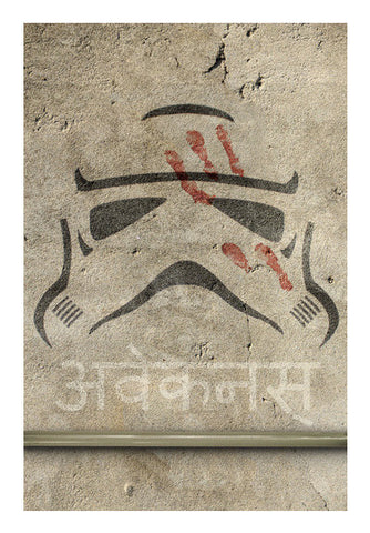 Wall Art, Star Wars The Force Awakens Wall Art | Artist : Samar Khan, - PosterGully