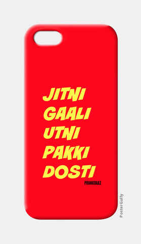 iPhone 5 Cases, Pakki Dosti iPhone 5 Cases | Artist : Prankbaaz Officials, - PosterGully
