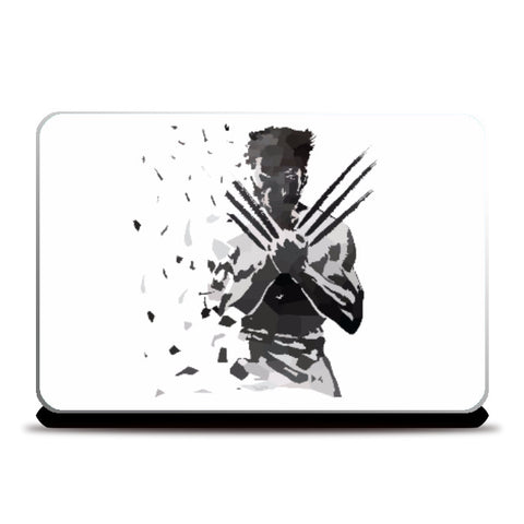 Laptop Skins, Low Poly Wolverine Dispersed  Laptop Skin | Artist: Darshan Gajara, - PosterGully