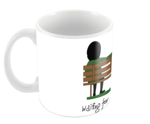 Waiting For You Baby Coffee Mug Coffee Mugs | Artist : Tripund Media Works