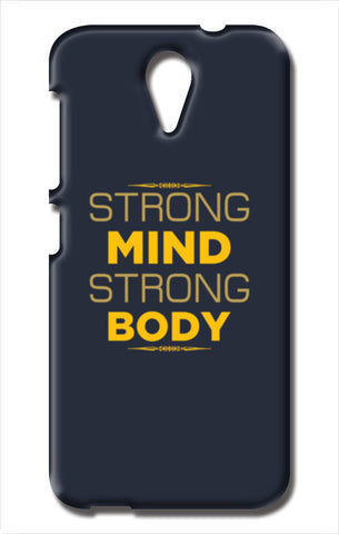 Strong Mind Strong Body HTC Desire 620 Cases | Artist : Designerchennai