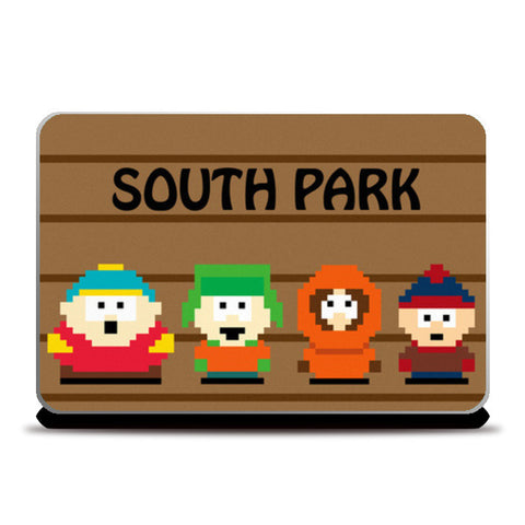 Laptop Skins, South Park Pixel Art Laptop Skins | Artist : marika3110, - PosterGully
