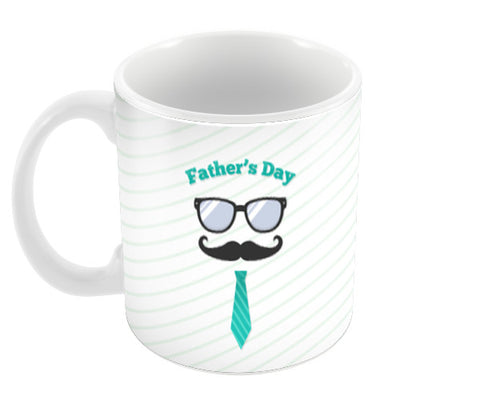 Father's Day Mustache Love | #Father's Day Special  Coffee Mugs | Artist : Creative DJ