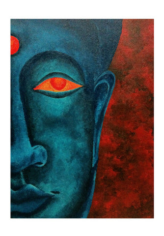 Wall Art, Buddha Wall Art | Artist : Akshaya Sawant, - PosterGully