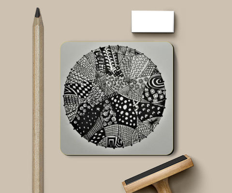 #Abstract Coasters | Artist : Divya Iyer