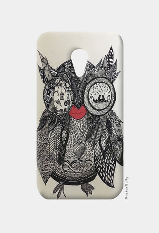 The Mystic Owl Moto G2 Cases | Artist : Quirky Designs by Priyanka Singhania