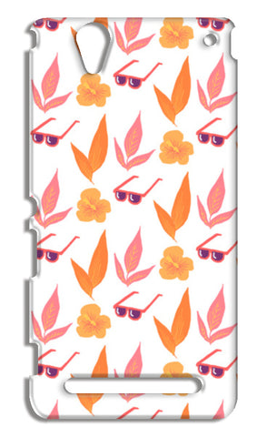 Tropical Vibes Sony Xperia T2 Ultra Cases | Artist : The Un.Titled