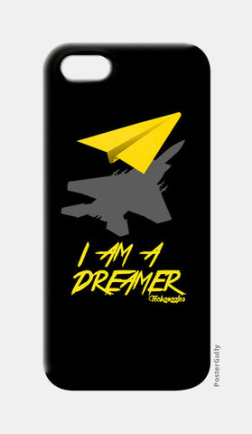 iPhone 5 Cases, I AM A DREAMER (Black) iPhone 5 Cases | Artist : Angad Singh, - PosterGully