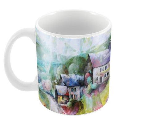 Paysage Coffee Mugs | Artist : BEDEUR Beatrice