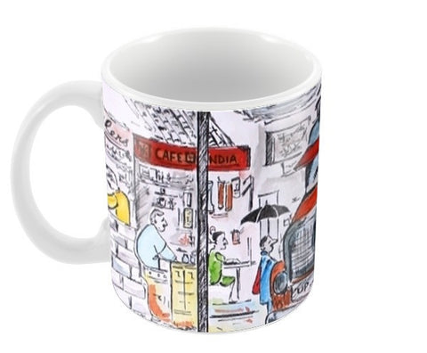 Malgudi Days Coffee Mugs | Artist : Binny Malik
