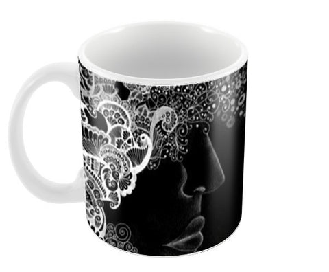 Reflection Coffee Mugs | Artist : Khwabeeda