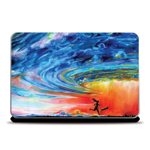 Laptop Skins, The Storm. Laptop Skins | Artist : Sukanya Chakraborty, - PosterGully