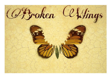 Wall Art, Broken Wings Wall Art  | Artist : Anushree Jaiswal, - PosterGully