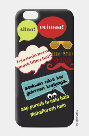 iPhone 6 / 6s, andaz apna apna iPhone 6 / 6s Case | Artist : Vidushi Jain, - PosterGully