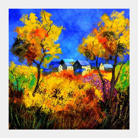 Square Art Prints, summer 8851880 Square Art Prints | Artist : pol ledent, - PosterGully