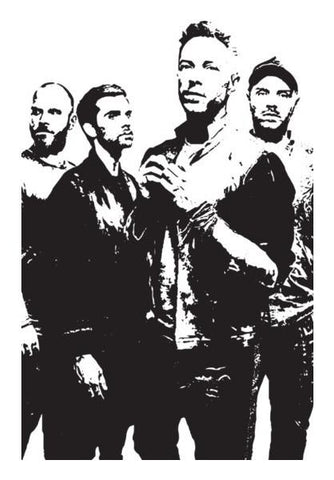 PosterGully Specials, COLDPLAY BAND Wall Art | Artist : Kau.Vish, - PosterGully