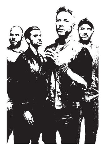 COLDPLAY BAND Art PosterGully Specials