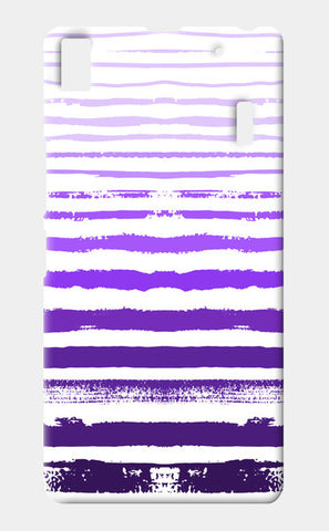 Uneven Purple Stripes Lenovo A7000 Cases | Artist : Amantrika Saraogi
