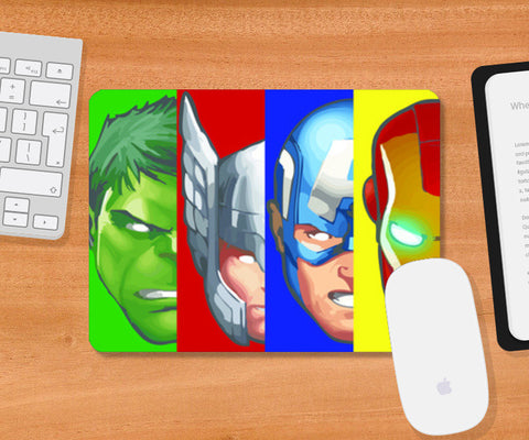 Mousepad, Avengers MOuse Pad, - PosterGully