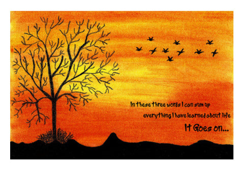 Sunset Wall Art  | Artist : Surabhi Purwar