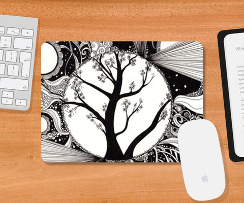 Mousepad, Tree of life Mousepad | Artist : Madhurima Biswas, - PosterGully